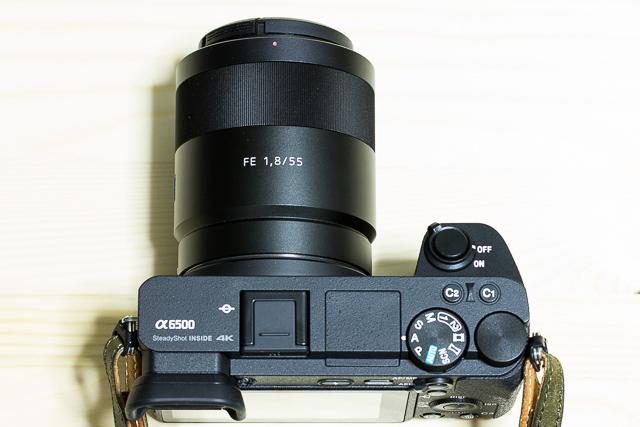 所有しているソニーEマウントカメラα6500