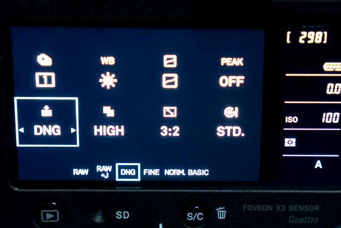 シグマのsd QuattroがDNG形式サポートでLightroom使用が容易になった