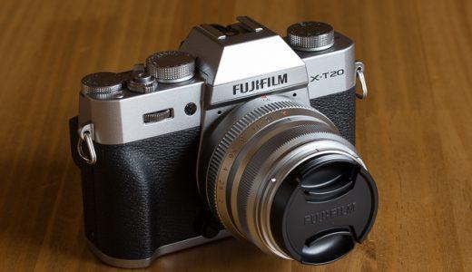 富士フイルムX-T20のJPEG撮って出しでRAW現像の色に仕上げる方法