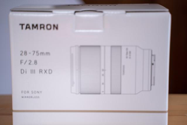 28-75mm F/2.8 Di III RXD(Model A036)75mm側のAF不具合画像