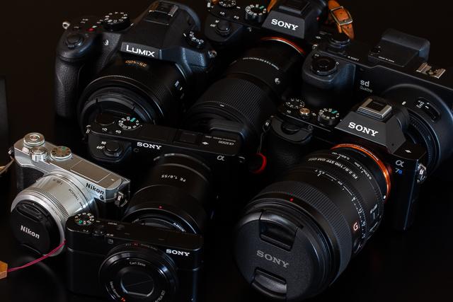 無駄に多いカメラたち