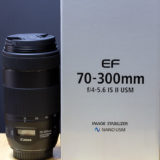 EF70-300mm F4-5.6 IS II USMはレンズフード別売だった