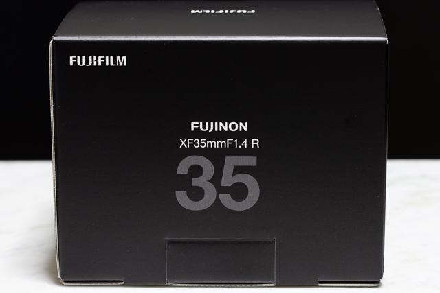 XF35mmF1.4 Rの新パッケージ