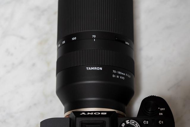 タムロンの70-180mm F/2.8 Di III VXD