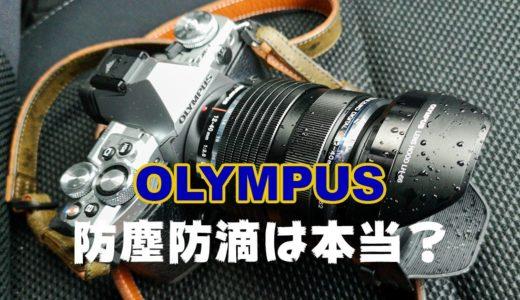 結論出た!私物のオリンパスのカメラとレンズで1年間「防塵防滴性能」をテストしてみた結果