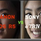 「EOS R5」vs「α7R IV」ポートレート写真を比較チェックしてみた結果
