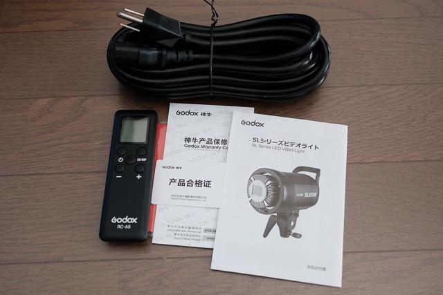 GODOX SL60W 付属品類
