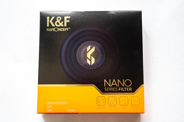 K&F ConceptのNANO-X ブラックディフュージョン