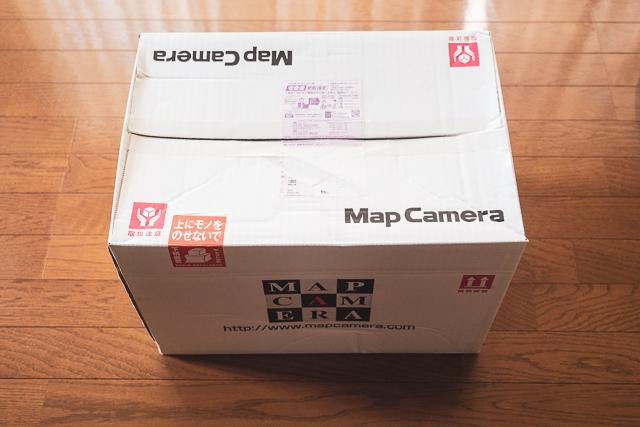 マップカメラの買取らくらくキット